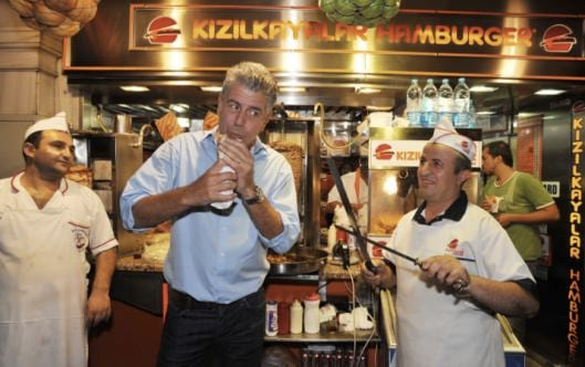 Anthony Bourdain No Reservations Kizilkayalar